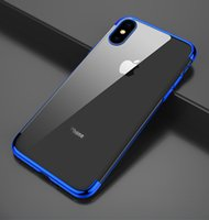 Origianl TPU Case for iPhone 5 / 5s / SE / 6 / 6s Transparent Silic Soft Case for iPhone 8 / X