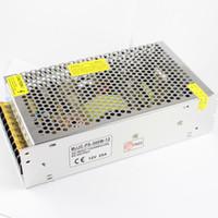 CA 110V 220V de MJJC au transformateur d'alimentation d'énergie de CC 12V 100w 120w 150w 180w 200w 240w pour la lumière de bande menée