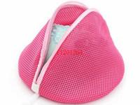 Sacchetto della maglia della rete della biancheria intima del reggiseno della biancheria dei calzini del sacchetto della lavatrice di colore rosso di trasporto 200pcs / lot