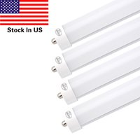 8ft T8 45W LED Tube Light 6000K Cold White Frosted pc Cover ...