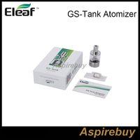 100% Autentisk ISMOKA ELEAF GS Tank Atomizer 3ml GS-Tank Atomizer med GS Air TC Head 0.15OHM FIT MED ELEAF ISTICK TC 40W BOX MOD
