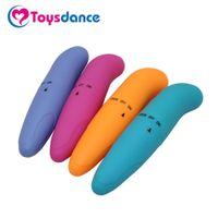 Toysdance продукты секса Женщины случайный цвет пуля вибраторы ABS высокое качество G-spot массажер для взрослых Секс-игрушки ABS Multi-speed Vibes q1711241