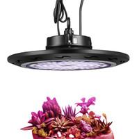 Водонепроницаемый 1000W UFO Растущих ламп полного спектр 1-1 Dimmable UFO LED Grow Light SMD3030 для продвижения гидропонных растений ПОСЕВНОГО Цветения