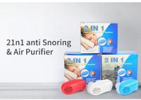Nova Chegada Saudável Auxiliar de Dormir Equipamentos Parar de Ressonar Magnético Anti Ronco Apneia Clipe Nasal Mini Transparente Anti-Ronco Dispositivo