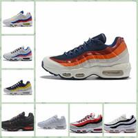 online store 4db32 e8913 Nike Air Max Original AirMax billig Männer Frauen Sport im Freien Schuhe 95  TT PRM 95S