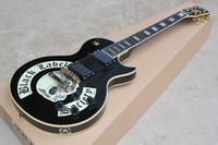 banda chitarra elettrica Black Label onori della società del teschio nero