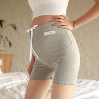 Maternity Shorts 2019 Spring New 100% Cotton Thread Belly Su...
