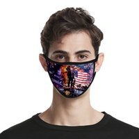 Trump Face Mask 40 Styles 3D Printed Ice Silk Adults Kids Fa...
