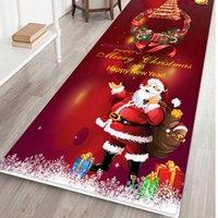 السنة الجديدة عيد الميلاد ديكور ماتس مرحبا مماسح داخلي الرئيسية السجاد ديكور نافيداد عيد الميلاد الديكور 7Color 40x120CM