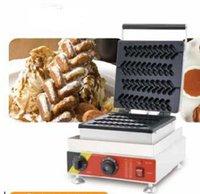 Ücretsiz kargo 2019 Yeni Ürün Ticari Kullanıma 4 Adet Lolly Waffle sopalarla makine hot dog gözleme sopa