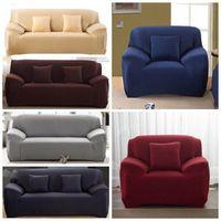 بلون لون أريكة الأغلفة مرونة أريكة وسادة تغطي غطاء قابل للغسل الأريكة غرفة المعيشة 1/2/3/4 مقاعد YSY421-L