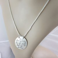 Fashion-y Learn From Yesterday Live For Today Hope For Tomorrow Letter Pendant Necklace New Fashion Jewelry 2 Colors OPP Bag