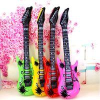 Moda 53 cm gonfiabile chitarra chitarra aerostato accessori per feste gonfiabili palloncini decorativi giocattoli regalo per bambini per bambini festa dei favori forniture
