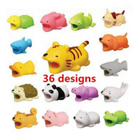 2019 Cable Bite Charger Cable Protector Savour Cover for iPhone Lightning Cute Animal Design Charging cord no package retail