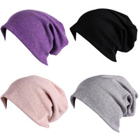 Cotton Beanie Caps Sweetheart Unisex Stripe Soft Hats Skull ...