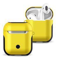 Bluetooth protetor auricular Para AirPods 3 Pro Portable TPU silicone dura do PC híbrido Choque resistente Casos de protecção da pele para a Apple AirPods