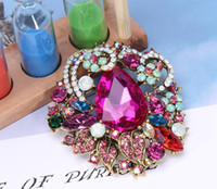 New hot sale boho style crystal luxury classic temperament w...