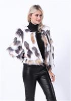 Mulheres Moda Desigenr Faux Fur Casacos europeus e americanos espessamento casaco quente Casual manga comprida Ladies Apparel