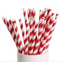 papel kraft colores disponibles coloridos de paja de papel de decoración degradable paja de papel encargo de la bebida del partido de té de leche 023