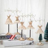 Resina artesanía accesorios accesorios de pantalla Collar modelo soporte pendientes soporte de exhibición soporte de la joyería decoración del hogar europeo