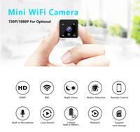 Smart WiFi Mini DV Cámara HD 1080P 720P Visión nocturna Bebé Monitor de bebé Acción remota Cámara de IP de seguridad de seguridad de la videocámara de vigilancia