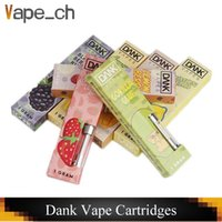 Dank Vapes Cartridges Ceramic Coil Vape Carts 1. 0ml For Glas...