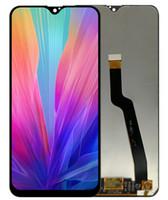 La original para Samsung Galaxy Asamblea A10 A105 A105F / DS Pantalla LCD de pantalla táctil digitalizador Negro libre de DHL