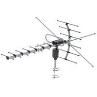 150km Freier TV-Antenne HDTV 1080p Fernsehantenne Amplifizierte digitale 15-22DB langer Bereich 360-Grad-Rotation Freies Verschiffen