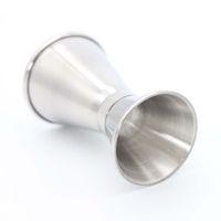 قياس مزدوجة من جانب كأس كوكتيل الخمور بار قياس الكؤوس الفولاذ المقاوم للصدأ الوالج نادل شرب الخمور خلاط قياس كأس DBC VT1013