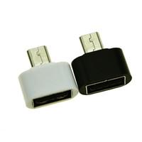 Adaptateur d'extension USB Micro USB vers USB 2.0 OTG Boîtier métallique pour interface de téléphone portable V8