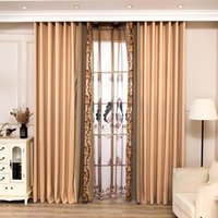 Scandinavian Luxury Embroidered Cotton and Curtains for Livi...