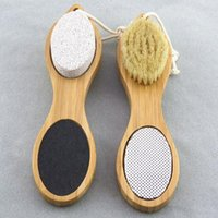 Exfoliating Dead Skin Remover Foot Massager Wood Feet Brush ...