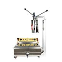 Máquina de churros manual comercial de 5L con freidoras de 30L Máquina de hacer churros manual Máquina de aperitivo popular en España