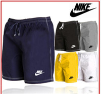 c965b36146 2019 Mens Swim Trunks Swimwear Shorts Slim Wear With Big Pocket Mens ...