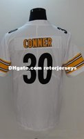 333167e71 New Arrival. NCAA  24 James Conner Pittsburgh Panthers College Football  Jersey White ...