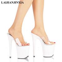 Office & School Supplies Laijianjinxia Women New 20cm Ultra High Heels Platform Sandals Night Club Party Wedding Dress Dancing Shoes Pole Dance Shoes Consumers First