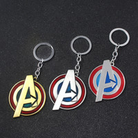 SG 4 Keychains Letter A Shield Thor Iron Super Man Hulk Than...