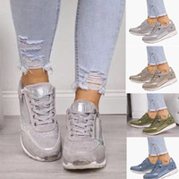 Fashion Women Espadrilles Sneaker Platform Shoes Designer Si...