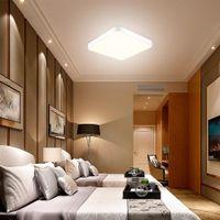Proste Nowoczesne LED Sufit Lampy Kwadratowe Lampy Sypialnia Lampa Jadalnia Balkon Corridor Aisle Lam P Engineering Night