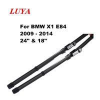 "Luya essuie-lame en essuie-glace voiture pour BMW X1 E84 (2009 - 2014) Taille: 24"" 18"""