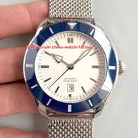 4 스타일 베스트 판 GF 공장 42mm Superocean II AB2010161C1A1 스테인레스 스틸 스위스 ETA 2824-2 무브먼트 자동 남성 시계 시계