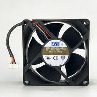 Оригинальный вентилятор AVC 8см DASA0832B2U 12V 1.0A 80 мм 8032 80 * 80 * 32мм двойной шар супер большой вентилятор охлаждения