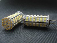 Yüksek Güç G4 3014SMD 126 led lambalar AC / DC 12V 4W Mısır Ampul Droplight Avize 3014SMD Spot ışık Serin / Beyaz 360 derece ısıtın