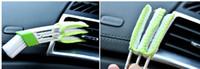 Dhl شحن 1 قطع السيارات غسالة ستوكات تنظيف فرشاة ل تكييف الهواء النظيف أدوات الكمبيوتر تنظيف الستائر المنفضة سيارة العناية بالتفصيل