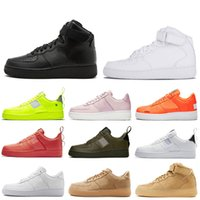 Nike air force 1 Designer One 1 Dunk Männer Frauen Flyline Running Schuhe Skateboarding Ones Schuhe Cut Haben Sie einen Tag Weizen Mens Trainer Turnschuhe im Freien