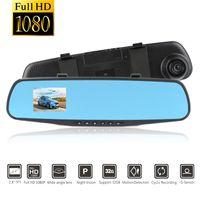 2,8 pouces Original Full HD 1080P Dash Cam Car Cam Chame Cam Vision Vision Night Vision DVR DVR Auto Recorder G-Sensor English Voice Camera