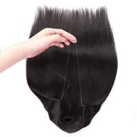 Große Rabatt Flip In Echthaar Extensions Silk Gerade 120g 16-22 Zoll Reines Menschenhaar Farbe 1 # 4 # 8 # 60 # 613 #, Freier DHL
