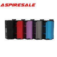Autentica DOVPO Fesa dual 200W Top Fill TC Squonk MOD con 10ml grande Squonk Bottiglia E cig Mod NO Batteria
