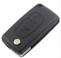 автомобильный ключ для Peugeot 307 308 607 пульт дистанционного чехол ключ чехол 3 кнопки ключ чехол CE0523