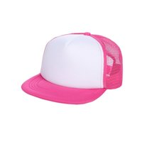 Children Boys Girls Blank Snapback Hats Adjustable Bboy Base...